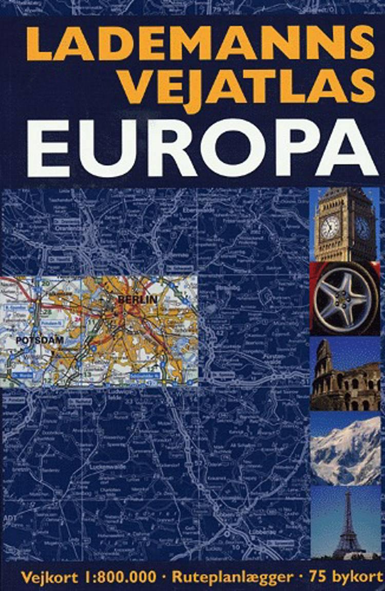 Lademanns Vejatlas Europa