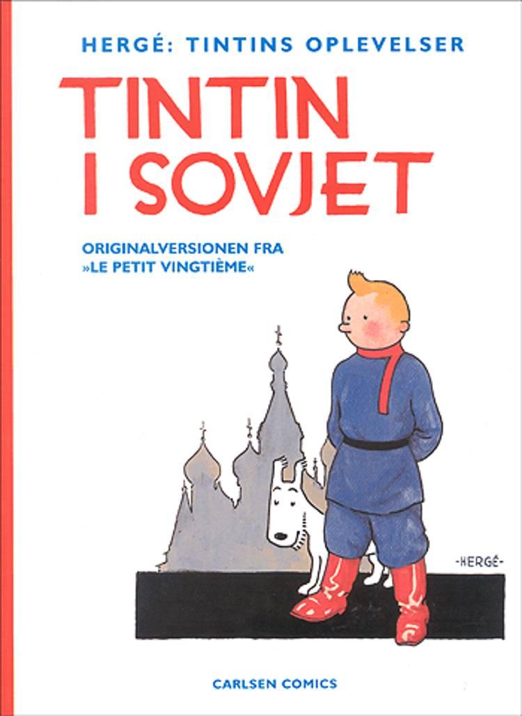 Tintin i Sovjet af Hergé
