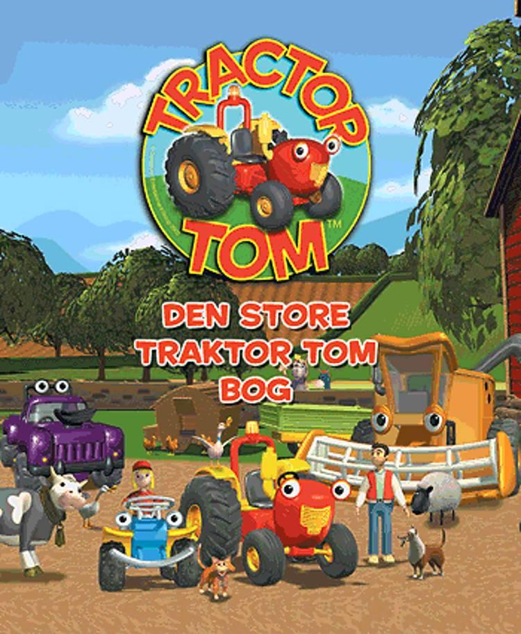 Den store Traktor Tom bog af Mark Holloway
