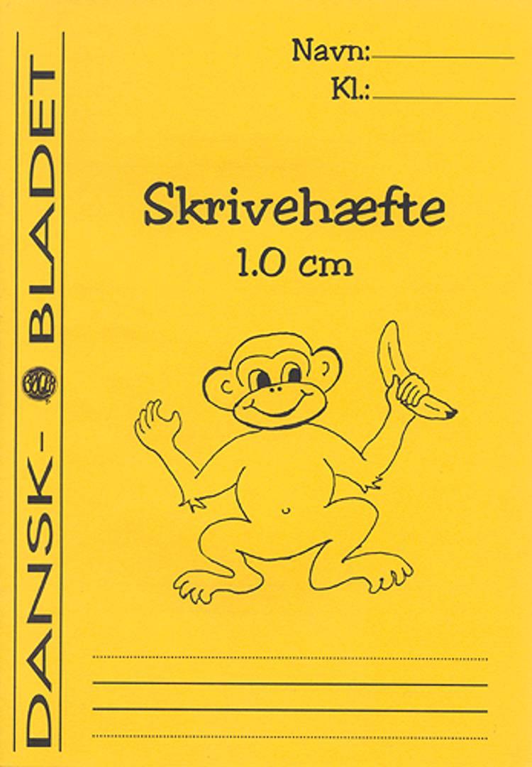Skrivehæfte med linieafstand 1,0 cm. af Pia Hansson