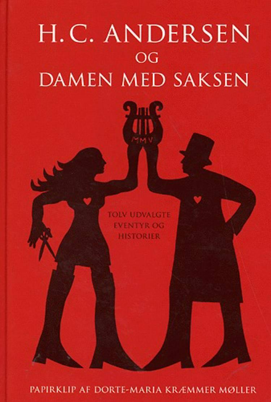 H.C. Andersen og damen med saksen af H.C. Andersen