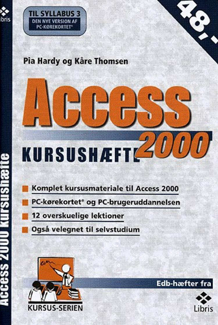 Access 2000 kursushæfte af Kåre Thomsen og Pia Hardy