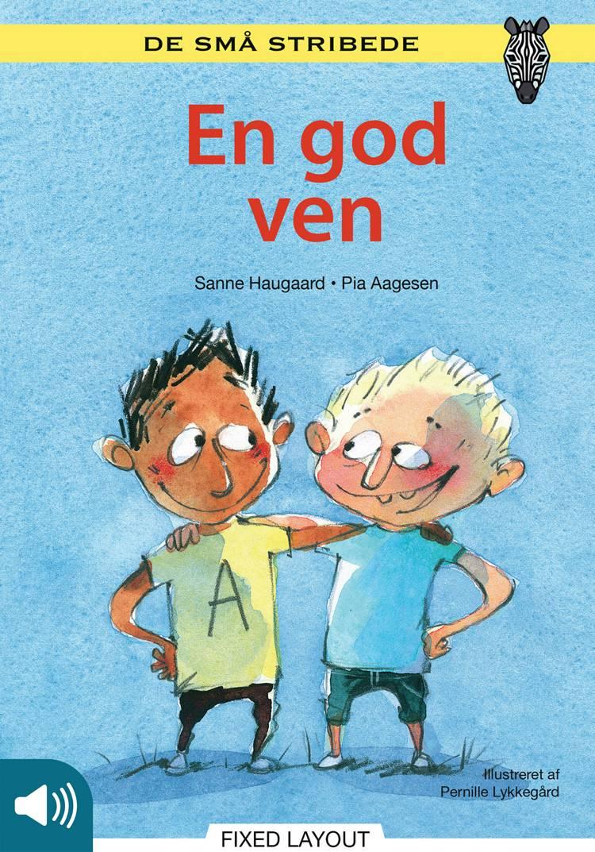 Kommas læsestart: En god ven - niveau 1 af Sanne Haugaard og Pia Aagesen
