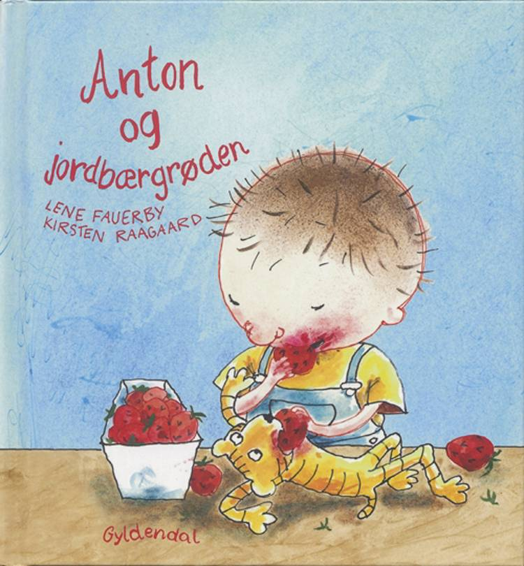 Anton og jordbærgrøden af Lene Fauerby
