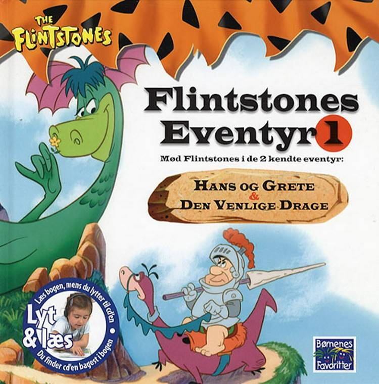 Flintstones eventyr af Hanna Barbera