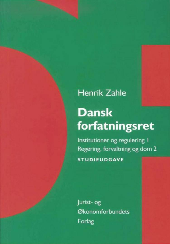 Dansk forfatningsret af Henrik Zahle og Nanna Hauch