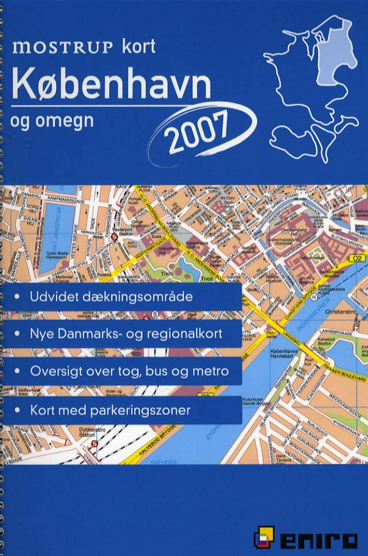 Mostrup kort København og omegn