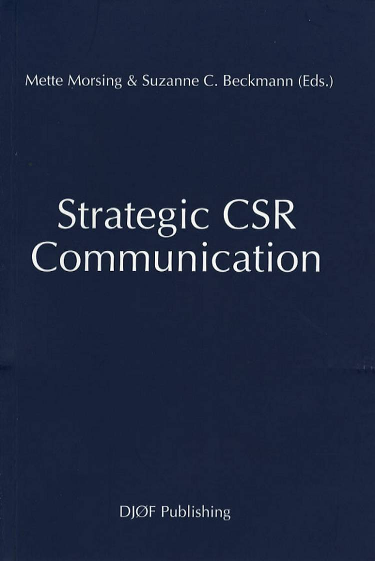 Strategic CSR Communication