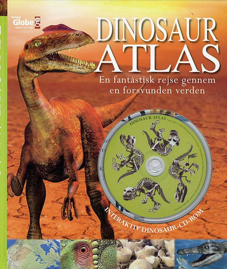 Dinosauratlas af John Malam og John Woodward