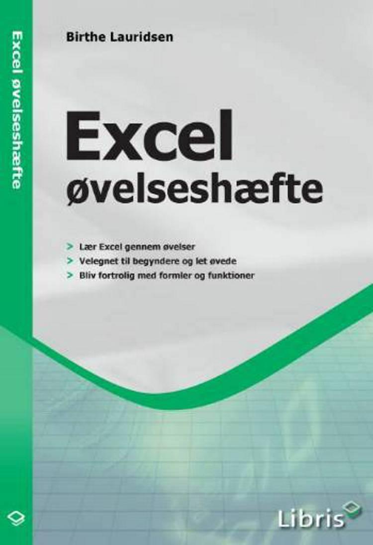 Excel øvelseshæfte af Birthe Lauridsen