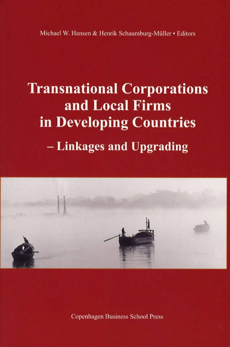 Transnational corporations and local firms in developing countries af Hansen, Hansen & Schaumburg-Müller og Schaumburg Müller