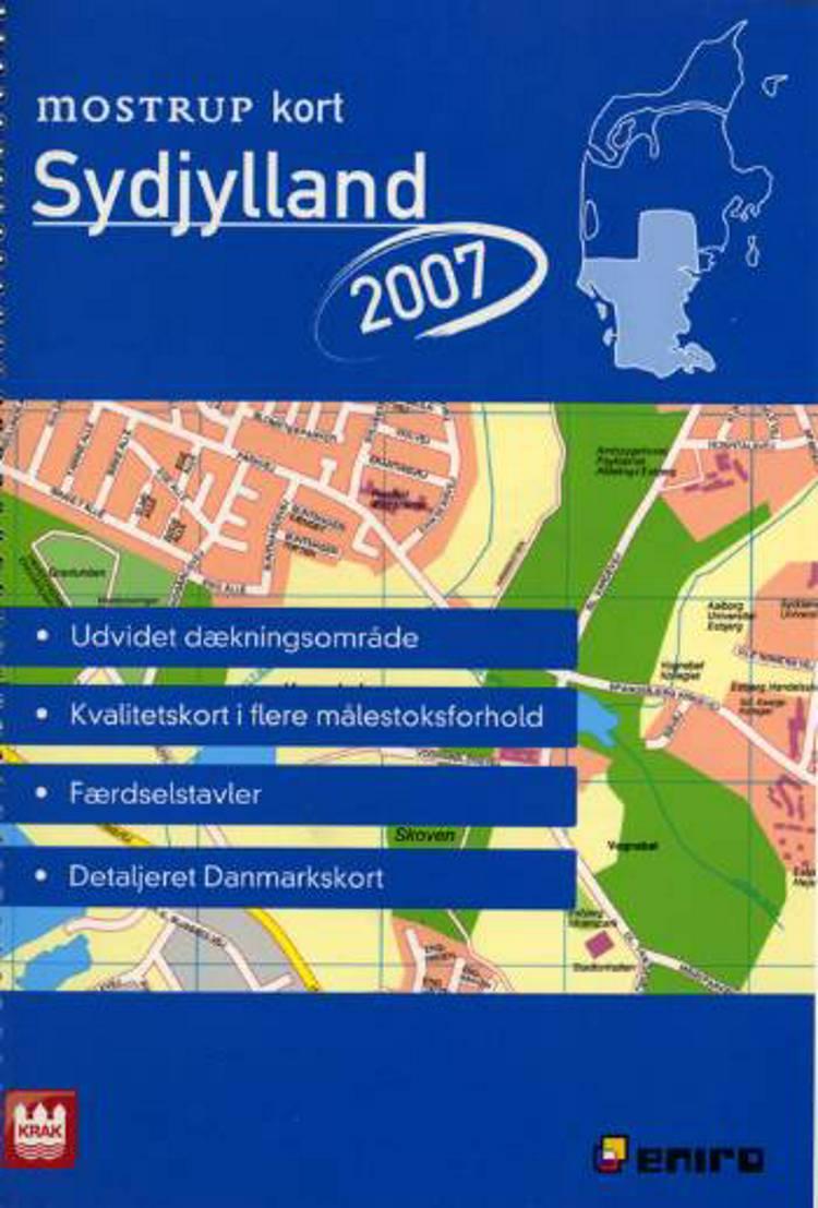 Mostrup Kort Sydjylland