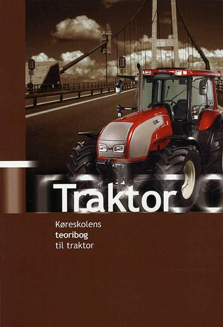 Køreskolens teoribog til traktor af John Lund og Flemming Borcher