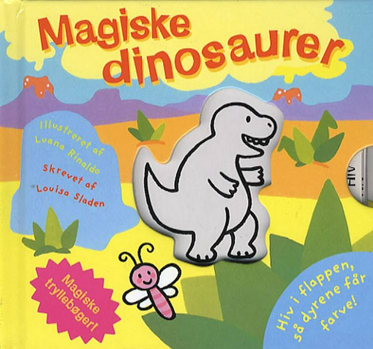 Magiske dinosaurer af Louisa Sladen og Luana Rinaldo