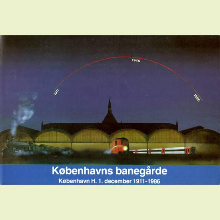 Københavns banegårde af John Poulsen