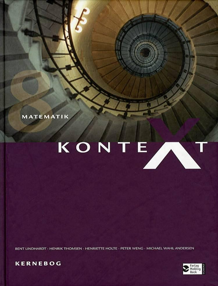 Kontext+ 8 af Henrik Thomsen, Bent Lindhardt, Niels Jacob Hansen, Henriette Holte, Kaj Østergaard og Lars Busch Johnsen m.fl.