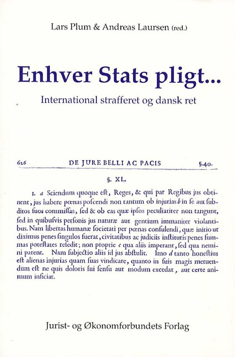 Enhver stats pligt af Lars Plum