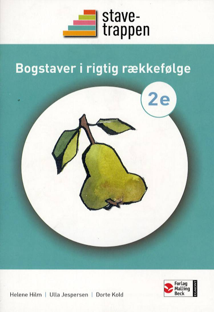 Stavetrappen 2 Bogstaver i rigtig rækkefølge af Dorte Kold, Helene Hilm og Ulla Jespersen
