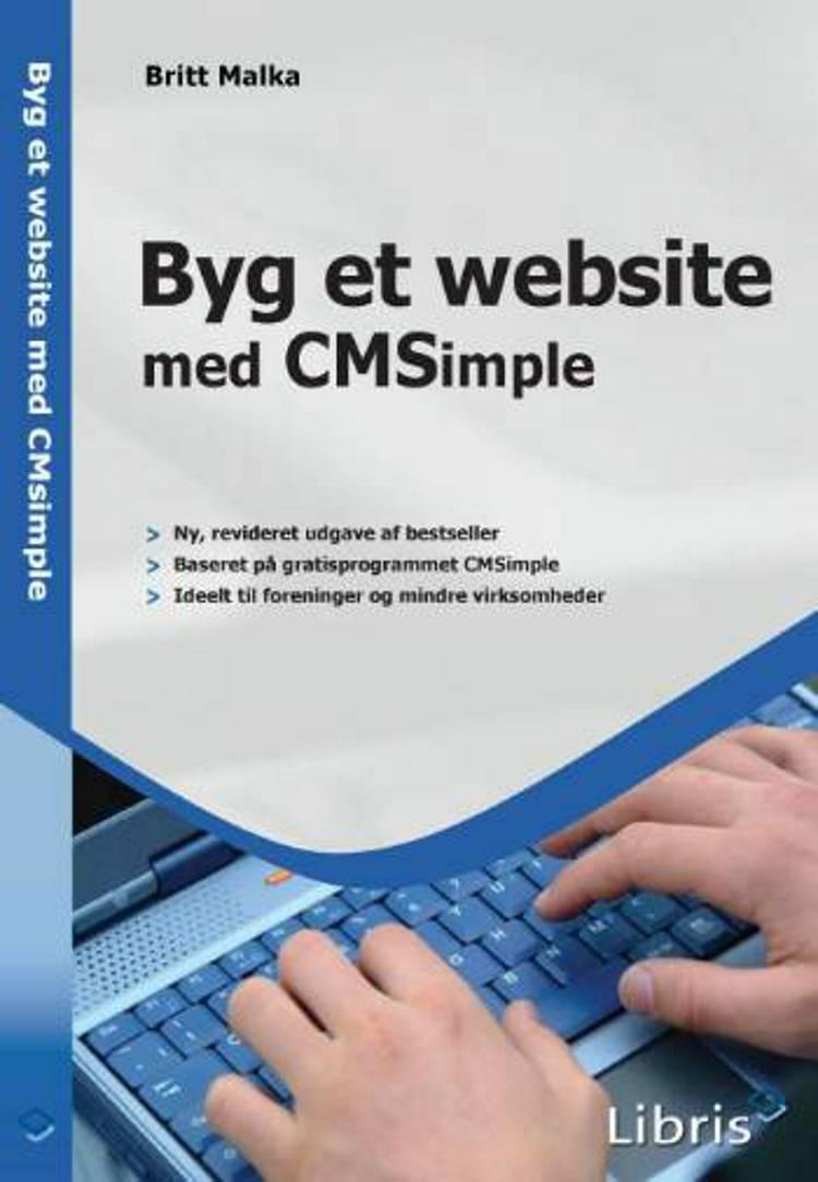 Byg et website med CMSimple af Britt Malka