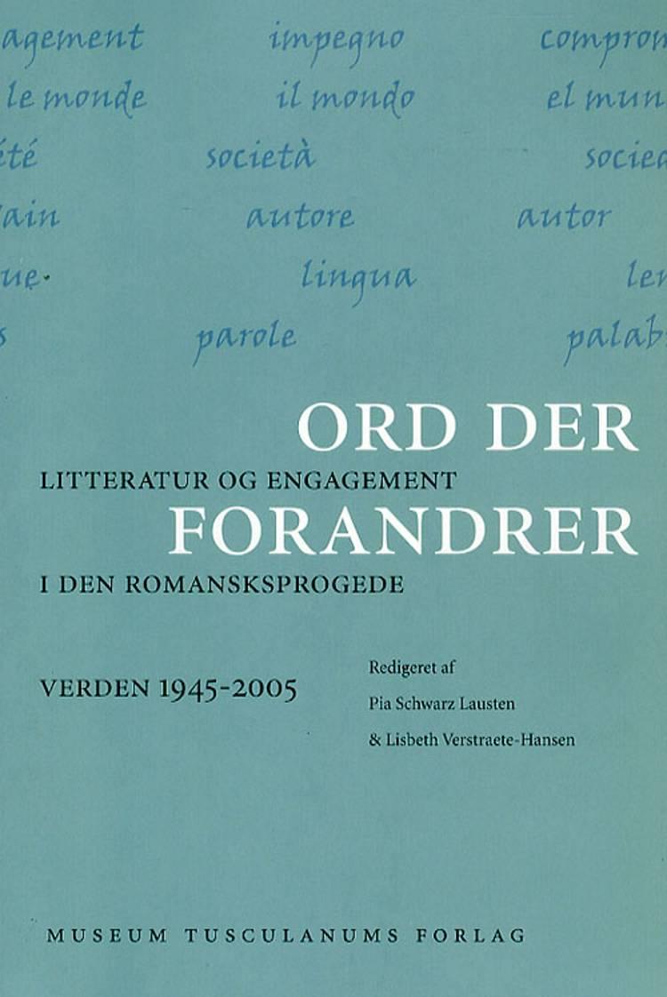 Ord der forandrer af Pia Schwarz Lausten og Lisbeth Verstraete-Hansen