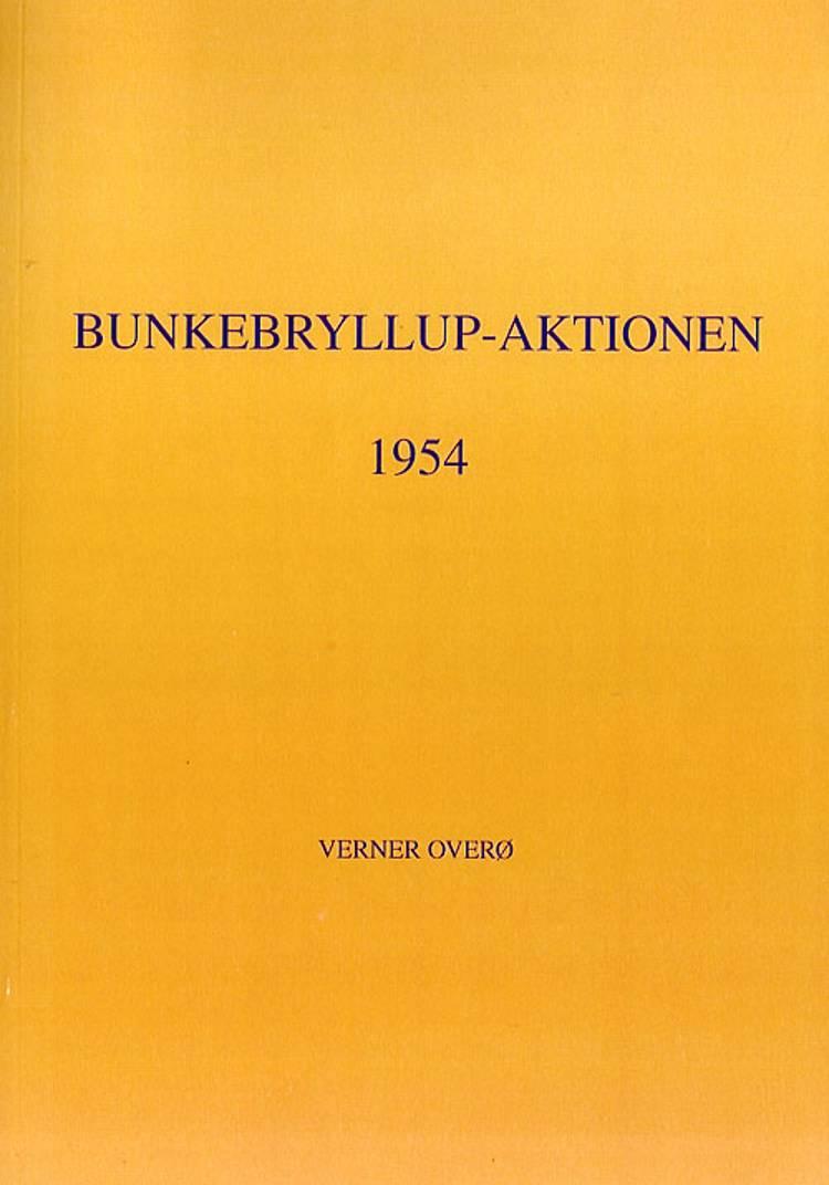 Bunkebryllup af Verner Overø