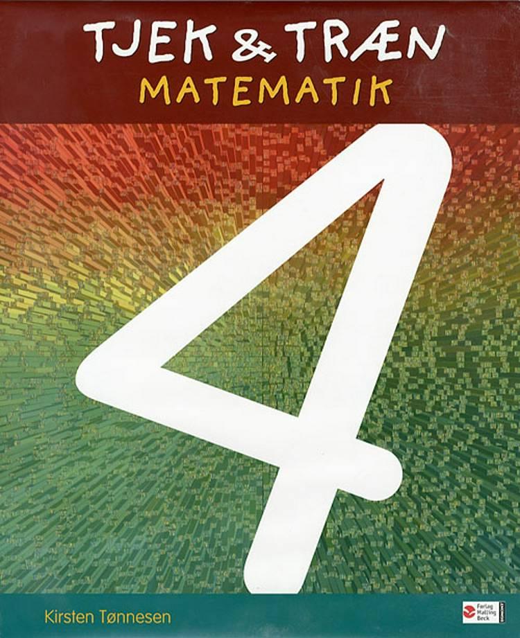 Tjek & træn matematik 4 af Kirsten Tønnesen