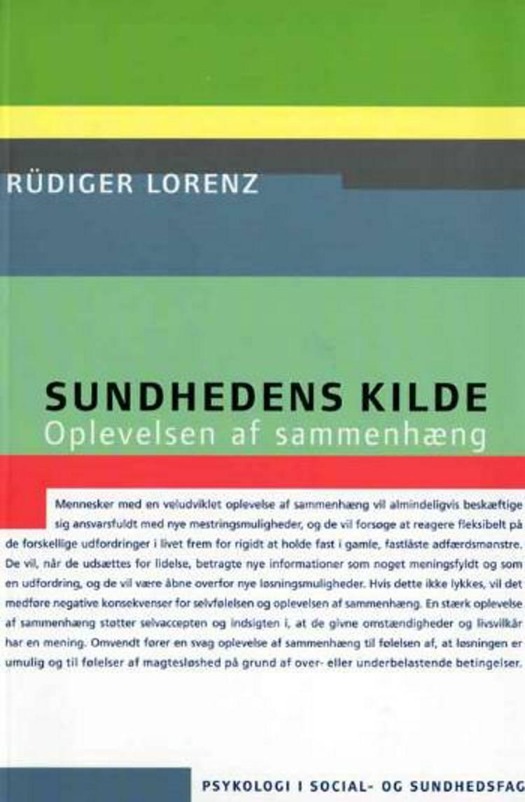 Sundhedens kilde af Rüdiger Lorenz