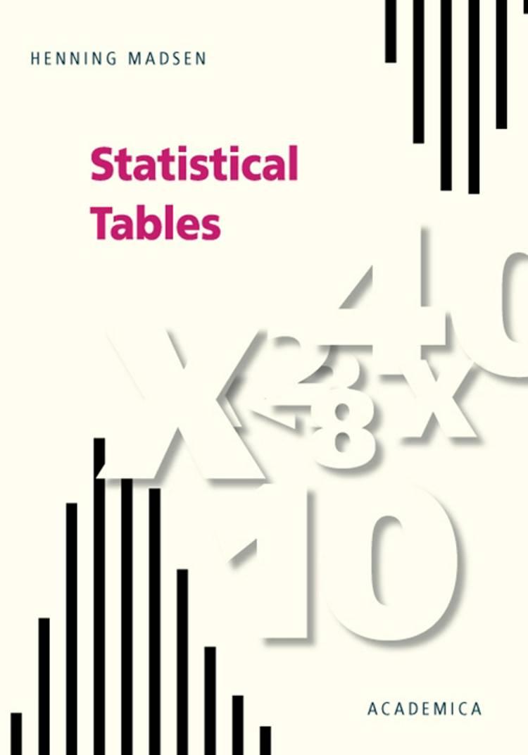 Statistical tables af Henning Madsen
