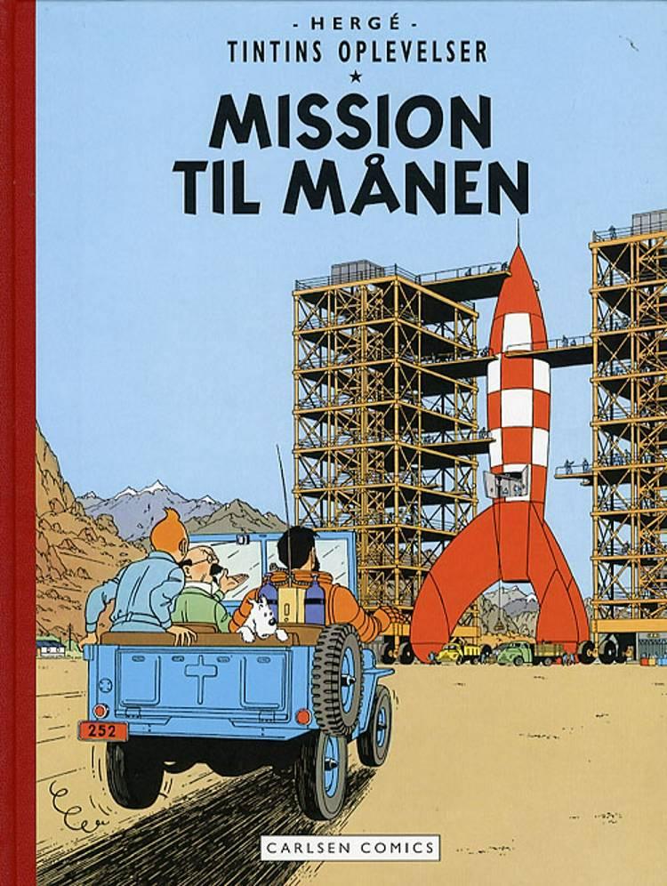 Mission til månen af Hergé