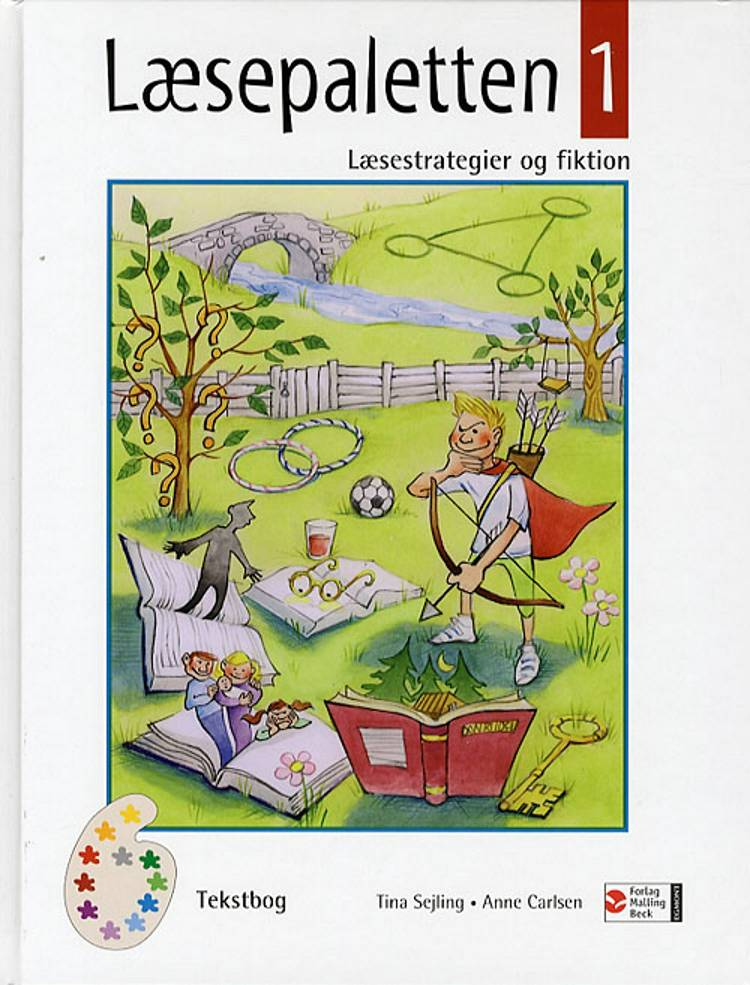Læsepaletten 1 af Tina Sejling og Anne Carlsen