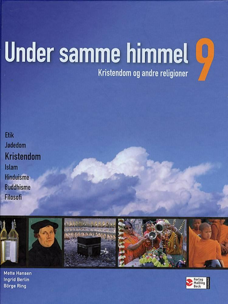Under samme himmel 9 af Mette Hansen, Börge Ring, Ingrid Berlin og Carina Hall m.fl.