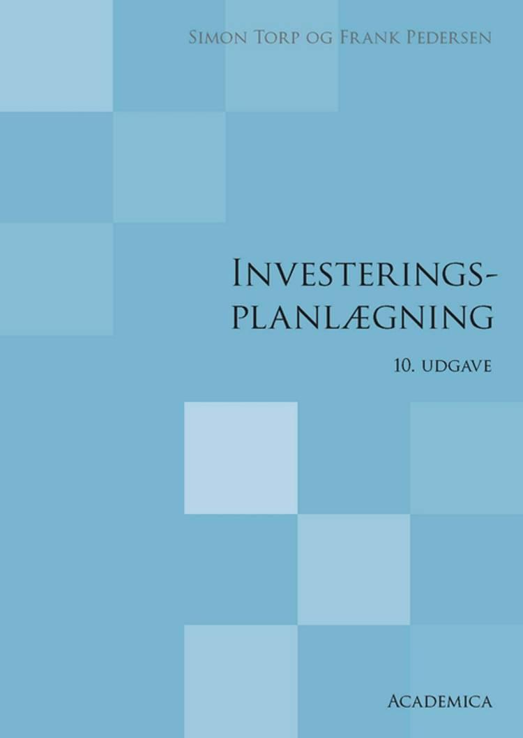 Investeringsplanlægning af Frank Pedersen og Simon Torp