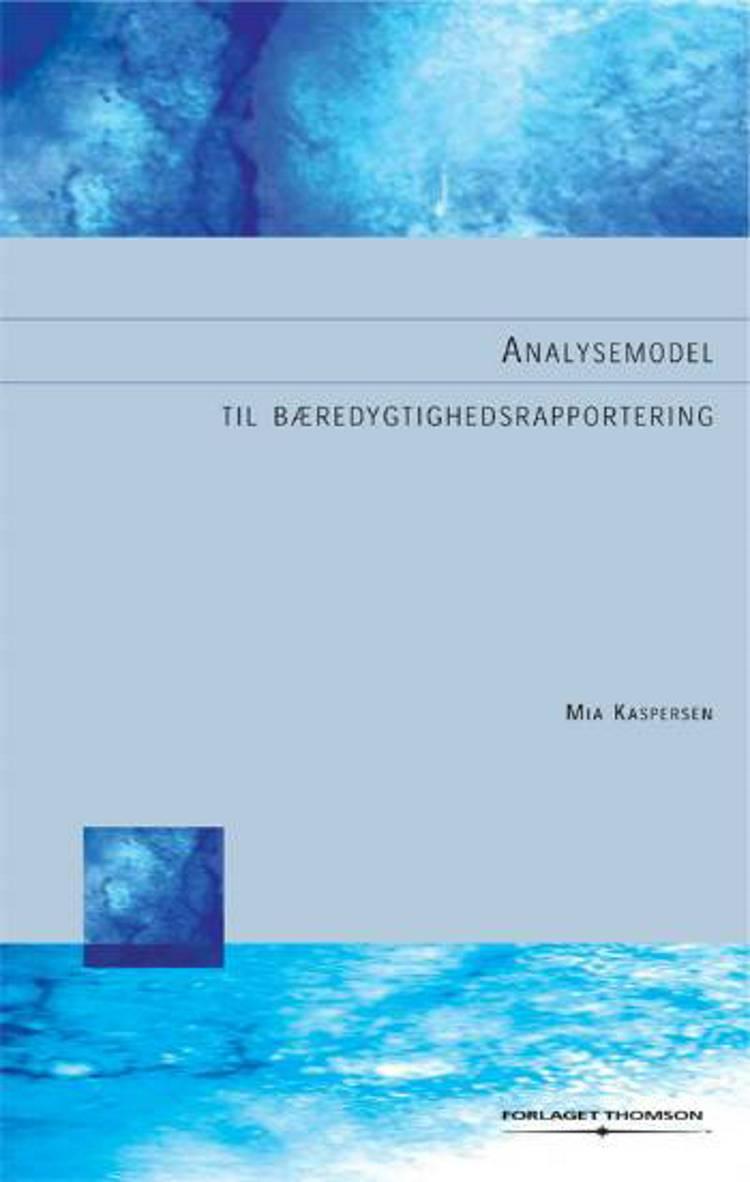 Bæredygtighedsrapportering af Mia Kaspersen