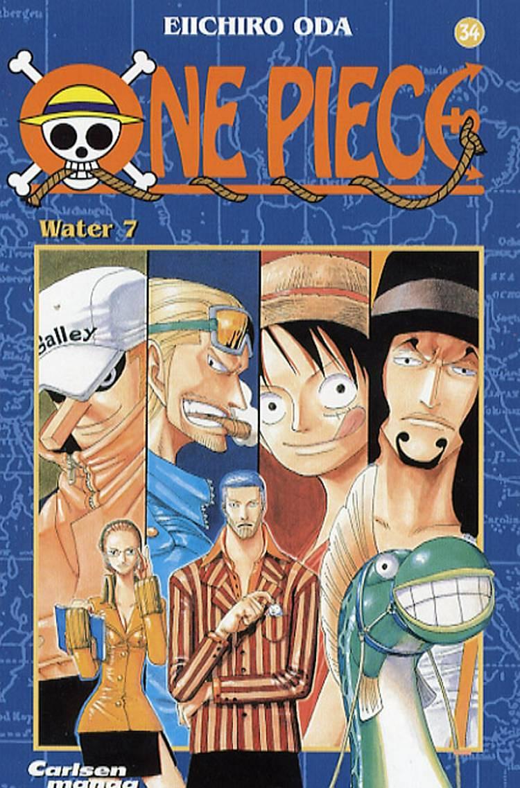 Water 7 af Eiichiro Oda