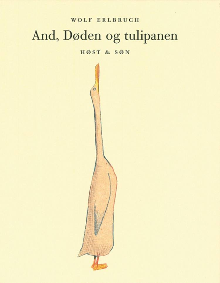 And, Døden og tulipanen af Wolf Erlbruch