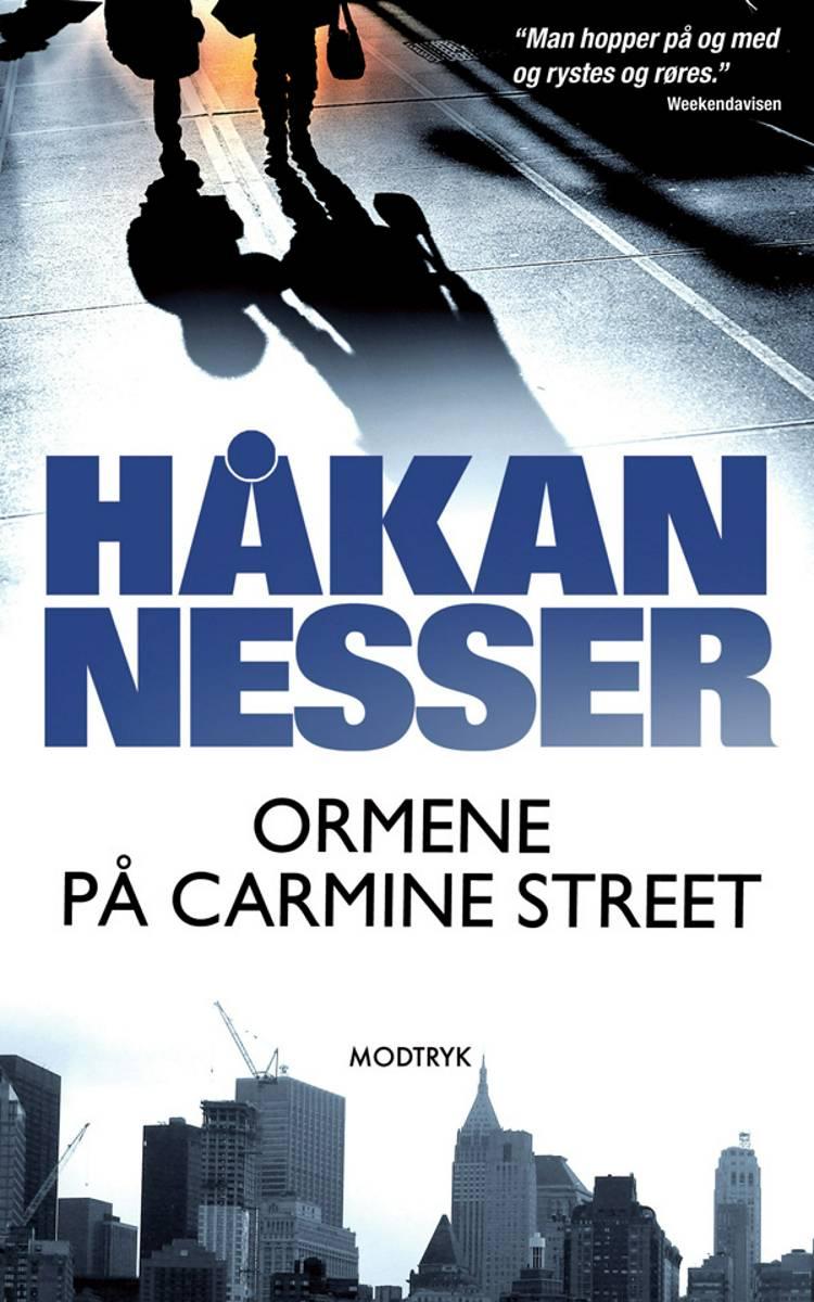 Ormene på Carmine Street af Håkan Nesser