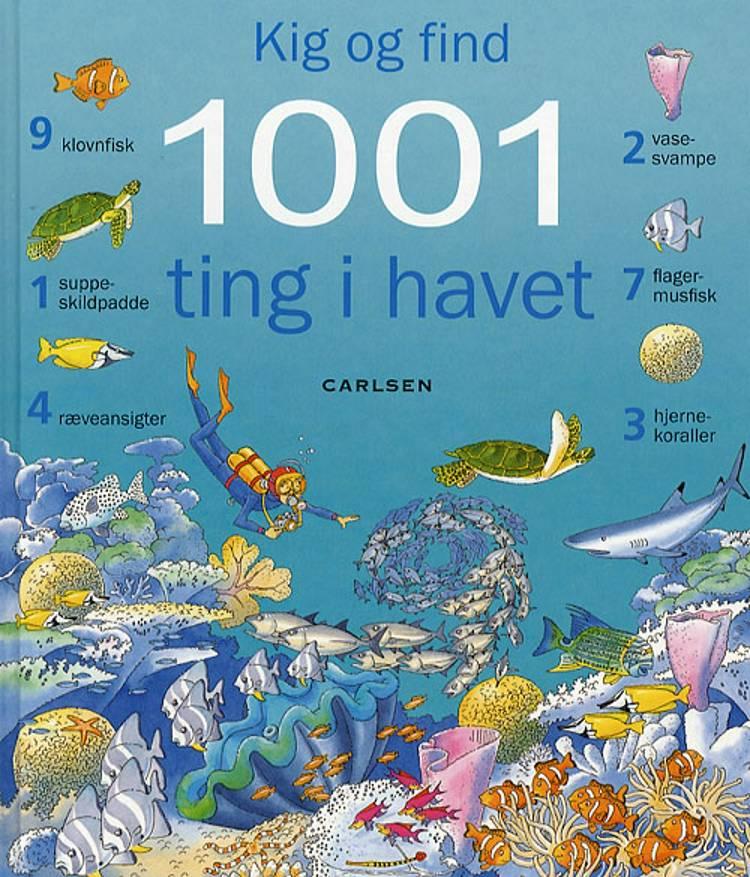 Kig og find 1001 ting i havet af Katie Daynes