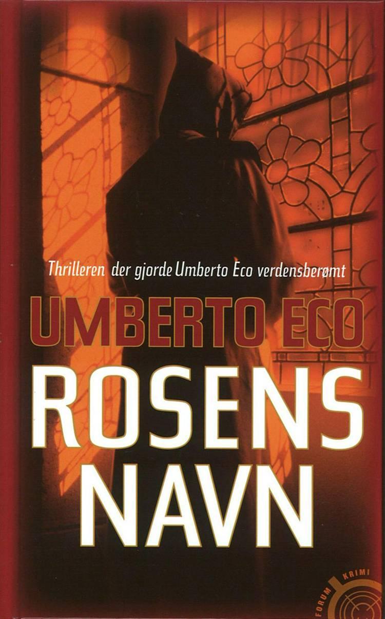 Rosens navn af Umberto Eco