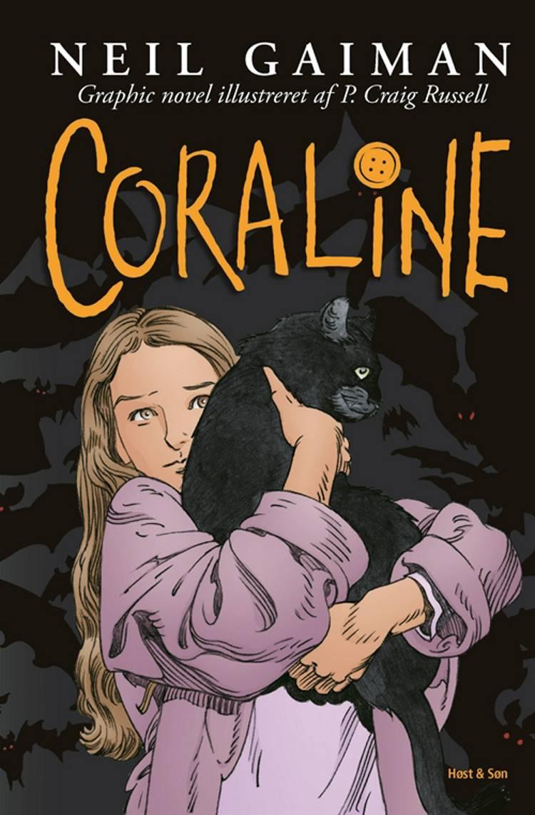 Coraline (grafisk udgave) af Neil Gaiman