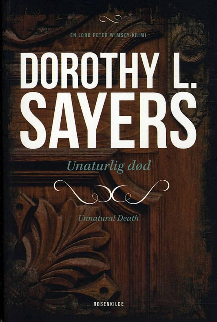 Unaturlig død af Dorothy L. Sayers