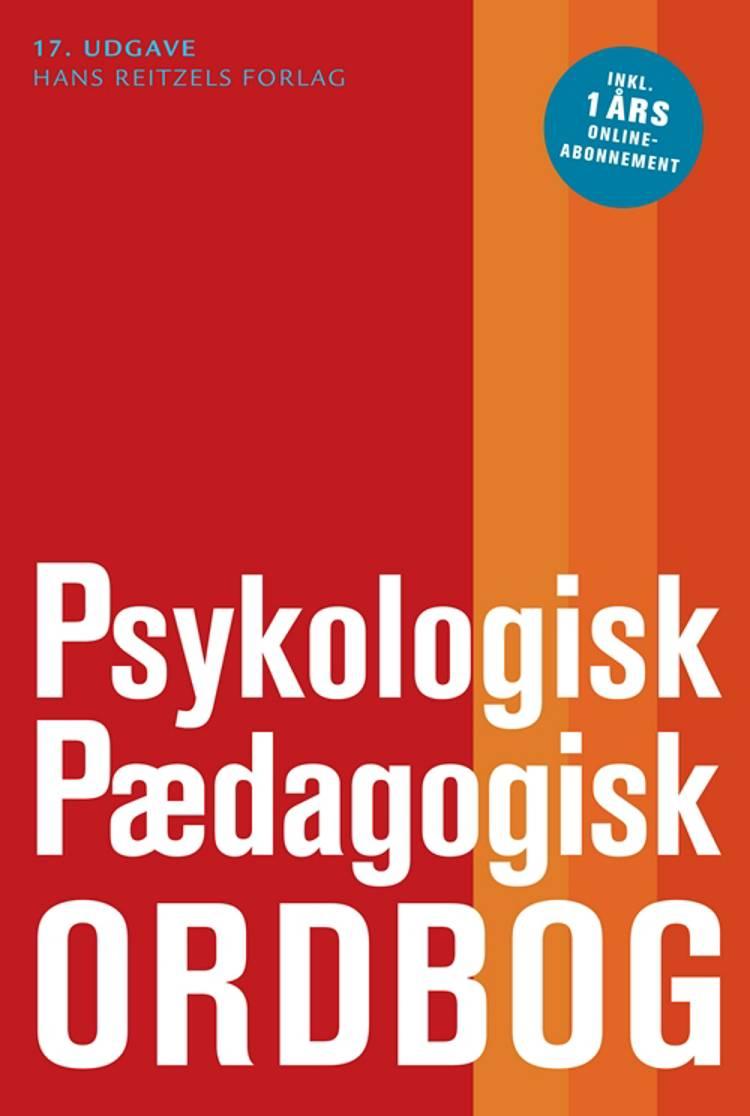 Psykologisk-pædagogisk ordbog af Mogens Hansen, Poul Thomsen og Ole Varming