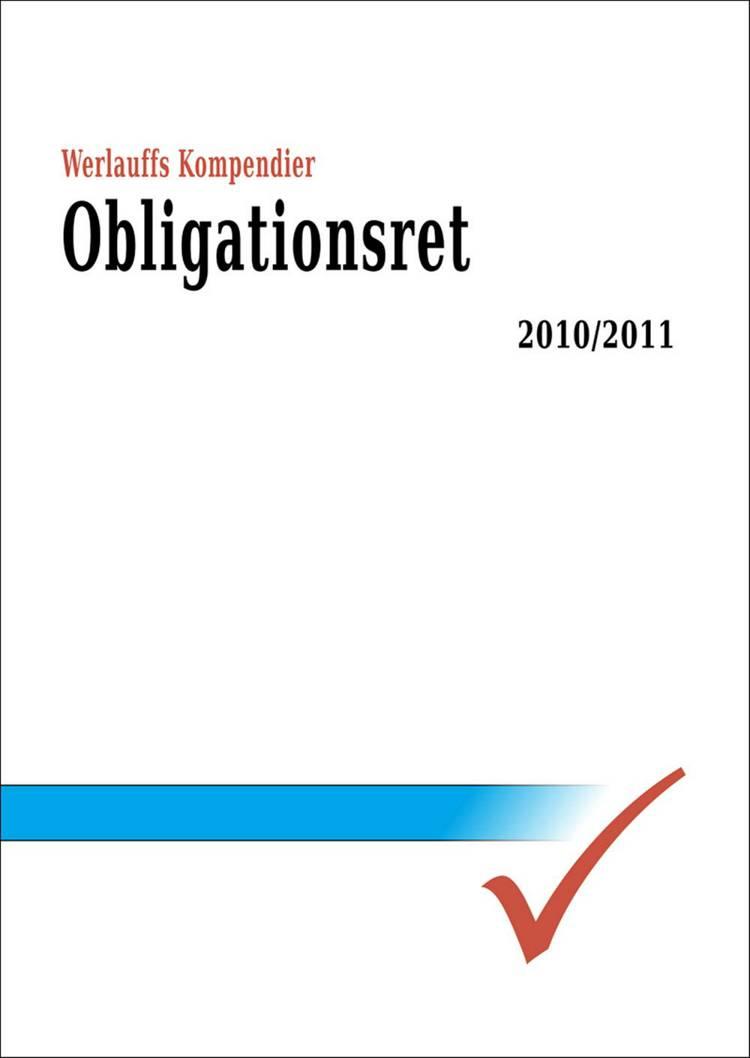 Obligationsret 2011-2012 af Erik Werlauff