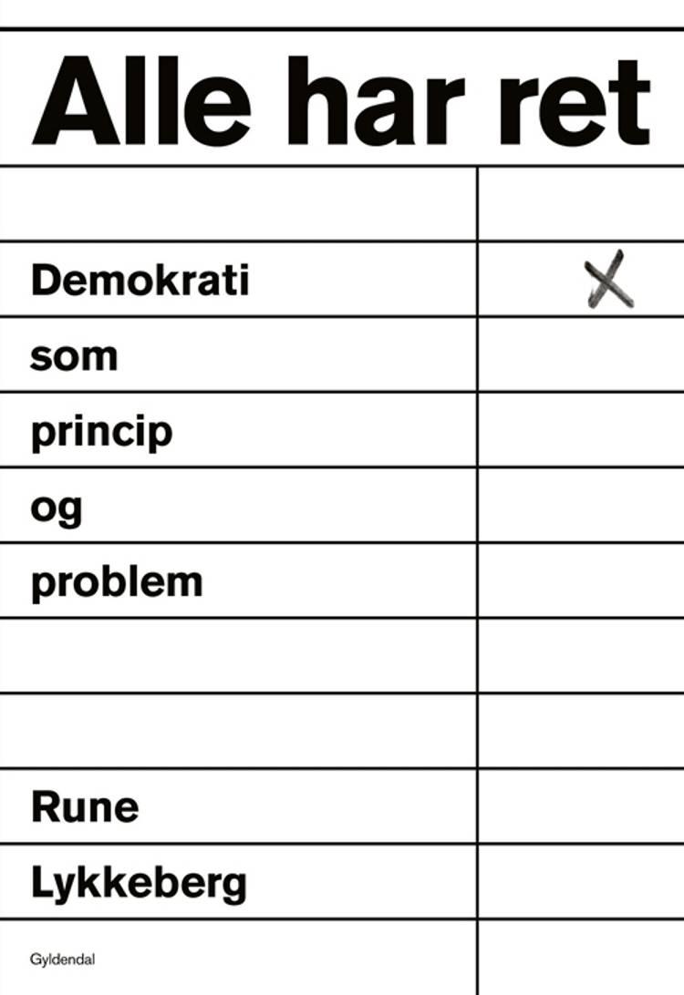 Alle har ret af Rune Lykkeberg