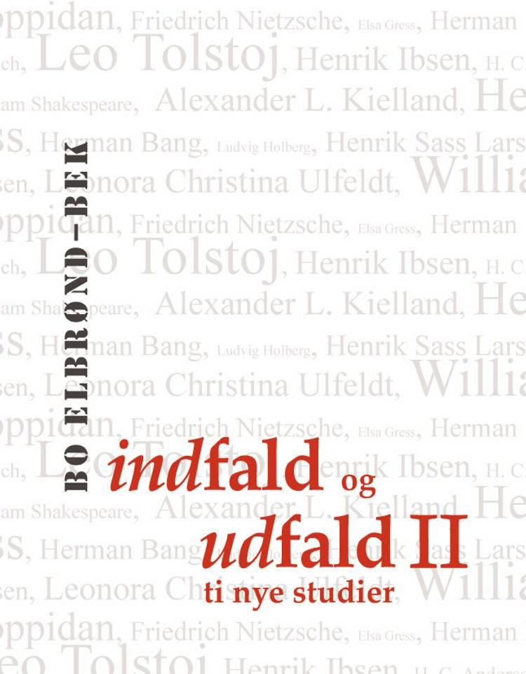 Indfald og udfald II af Bo Elbrønd Bek