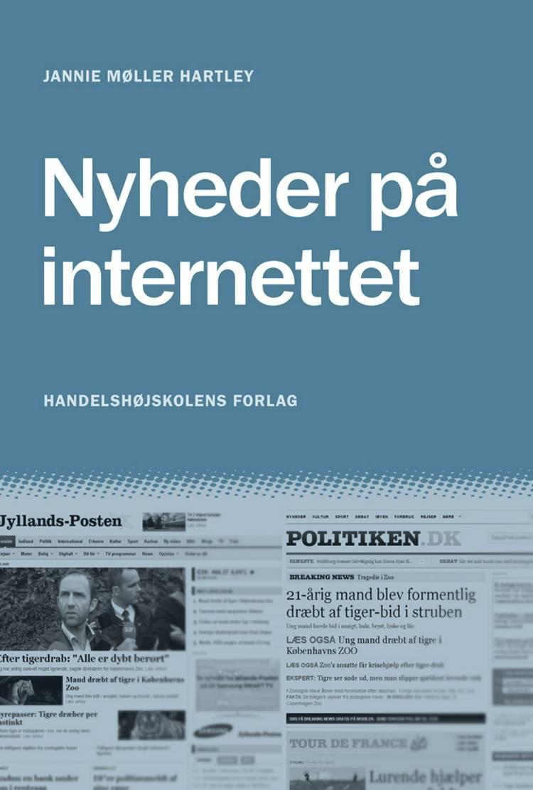 Nyheder på internettet af Jannie Møller Hartley