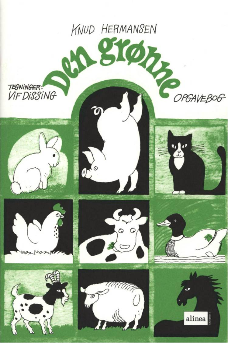 Den grønne opgavebog af Knud Hermansen og Ejvind Jensen