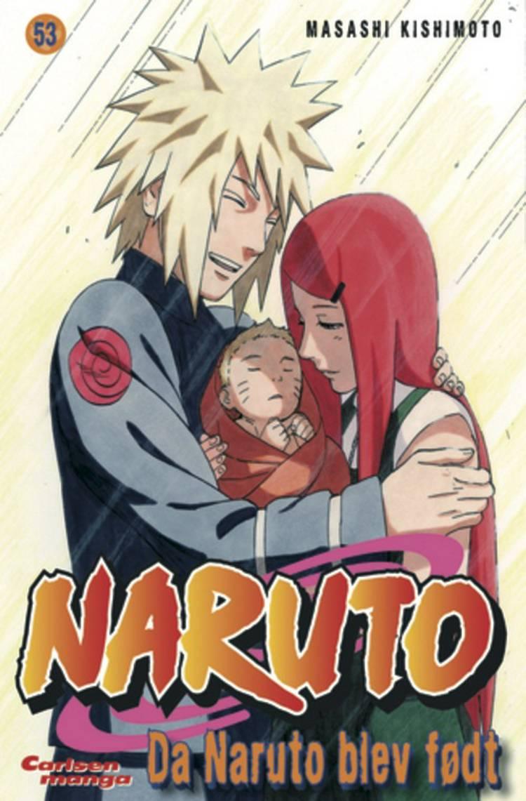 Da Naruto blev født af Masashi Kishimoto