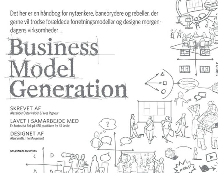 Business Model Generation af Alexander Osterwalder, Yves Pigneur og Tim Clark