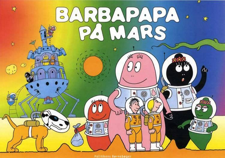 Barbapapa på Mars af Talus Taylor og Annette Tison