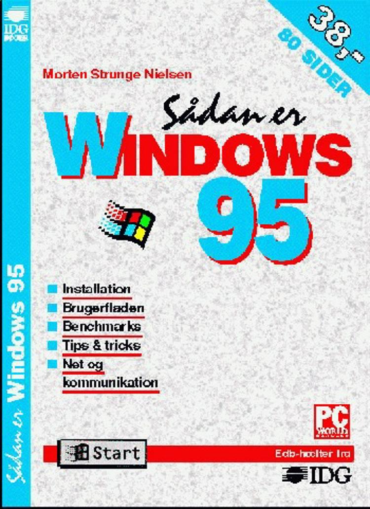 Sådan er Windows 95 af Morten Strunge Nielsen